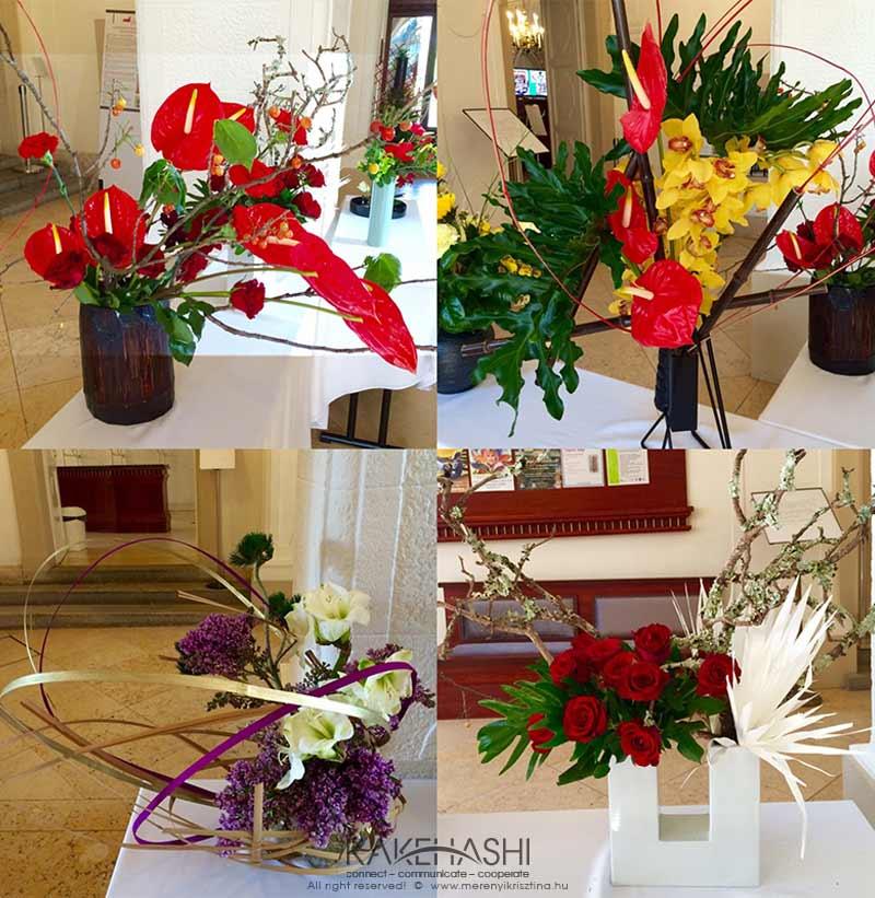 Ikebana arrangement I.