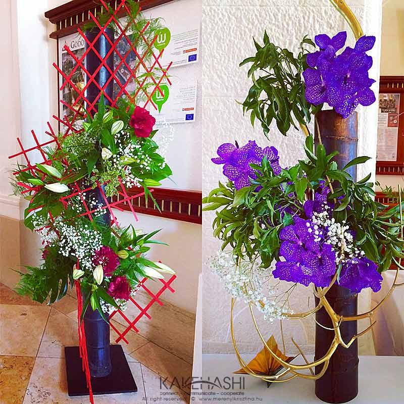 Ikebana arrangement II.