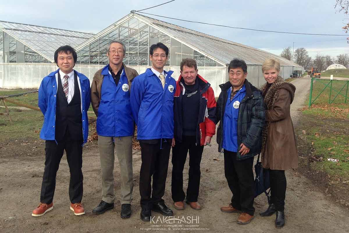 As an interpreter of the Hungarian and Japanese gardeners in Szentes