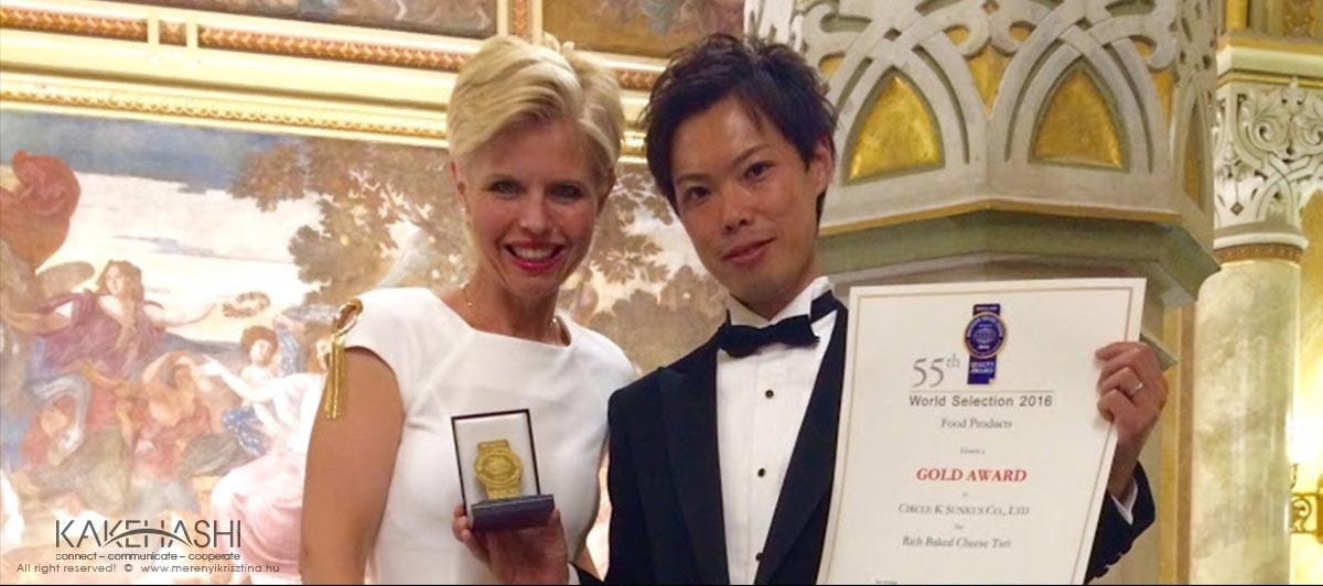 As a translator of  an Award ceremony