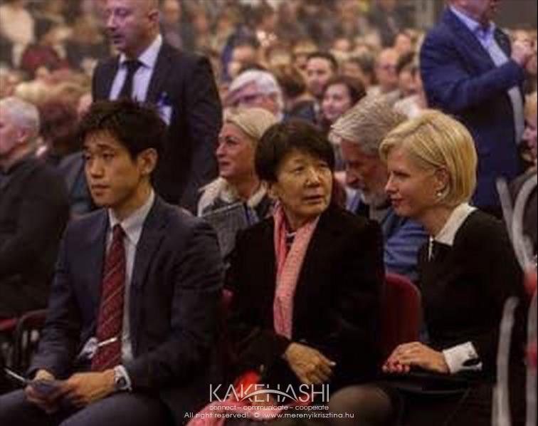 As the interpreter of the Ambassador of Japan
