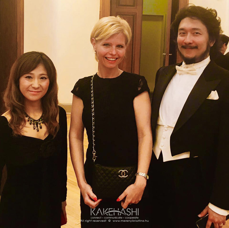 As an interpreter of Japanese opera singers at Musikverein in Vienna