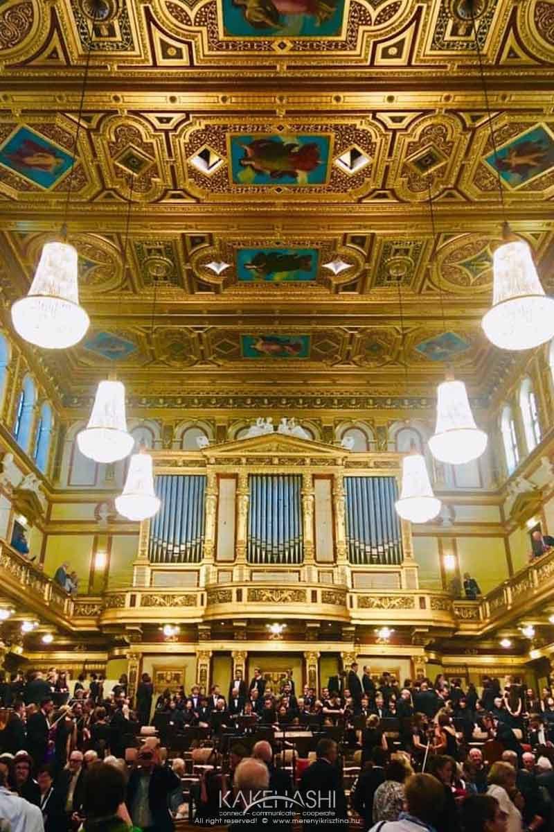 Szolnok Orchestra concert at Musikverein in Vienna