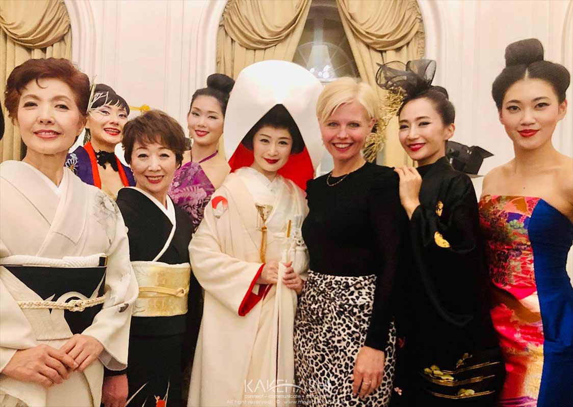 Kimono fashion show in 2019 Budapest