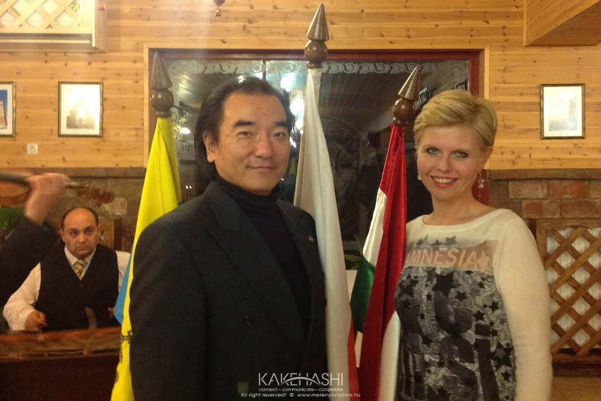Celebration of twin cities relationship with the conductor of Szolnok Symphonic Orchestra, Mr. Izaki Masahiro