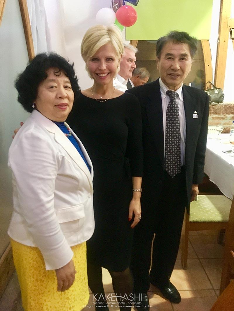 Past Mayor of Yuza town Onodera Kenichiro and his wife